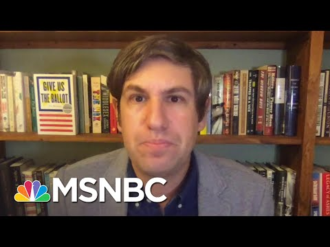 Ari Berman: Record Early Voting Suggests Voter Suppression Is Backfiring | The Last Word | MSNBC