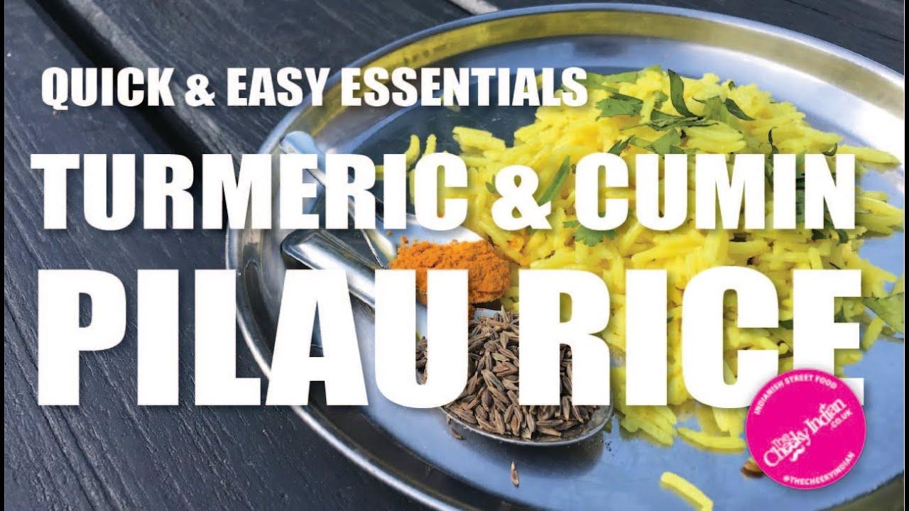 Fluffy Turmeric & Cumin Pilau Rice