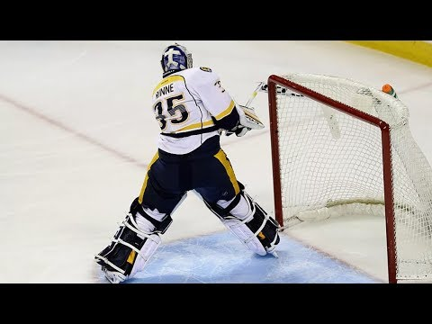 NHL: Goalies Breaking Sticks