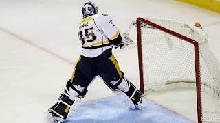 NHL Goalies Breaking Sticks