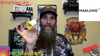 Marlowe | Skin Care Products Review | BeardTastic Reviews