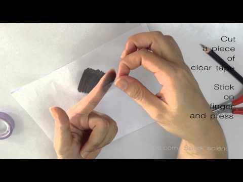 How to make fingerprint - Spark Science Homemade