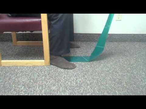 Toe flexor strengthening with band: Huntington Physical Therapy (HPT) 25703