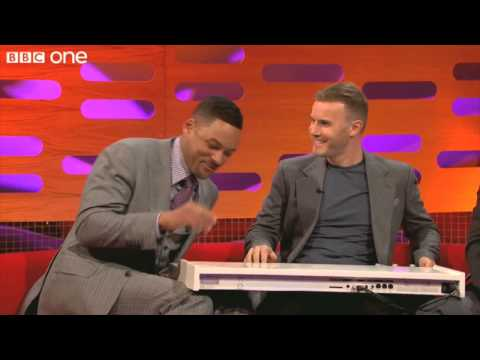 Will Smith and Gary Barlow (Fresh Prince of BelAir) Rap The Graham Norton Show BBC One