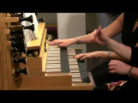 Quattro Obbligato - N.Hakim: Rhapsody for Organ Duo mov. 3