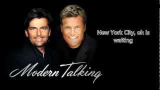 Modern Talking - Last Exit to Brooklyn [Lyrics]