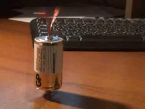 Как сделать из батарейки двигатель