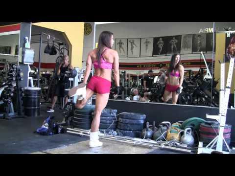 Oksana Grishina IFBB Fitness Workout