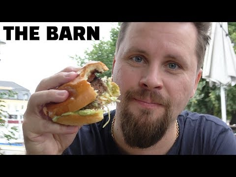 HAMBURGAR-TEST I GÖTEBORG (THE BARN)