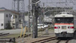 2017.04.16 東武日光線 ありがとう300型 特急きりふり 新鹿沼駅