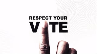 Respect Your Vote, Reject Vote-Buying!