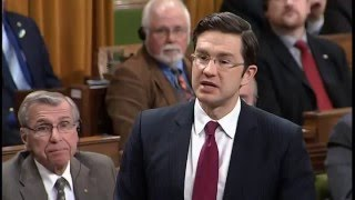 Hon. Pierre Poilievre continues to pressure Gov't to abandon tax incrases on stock options