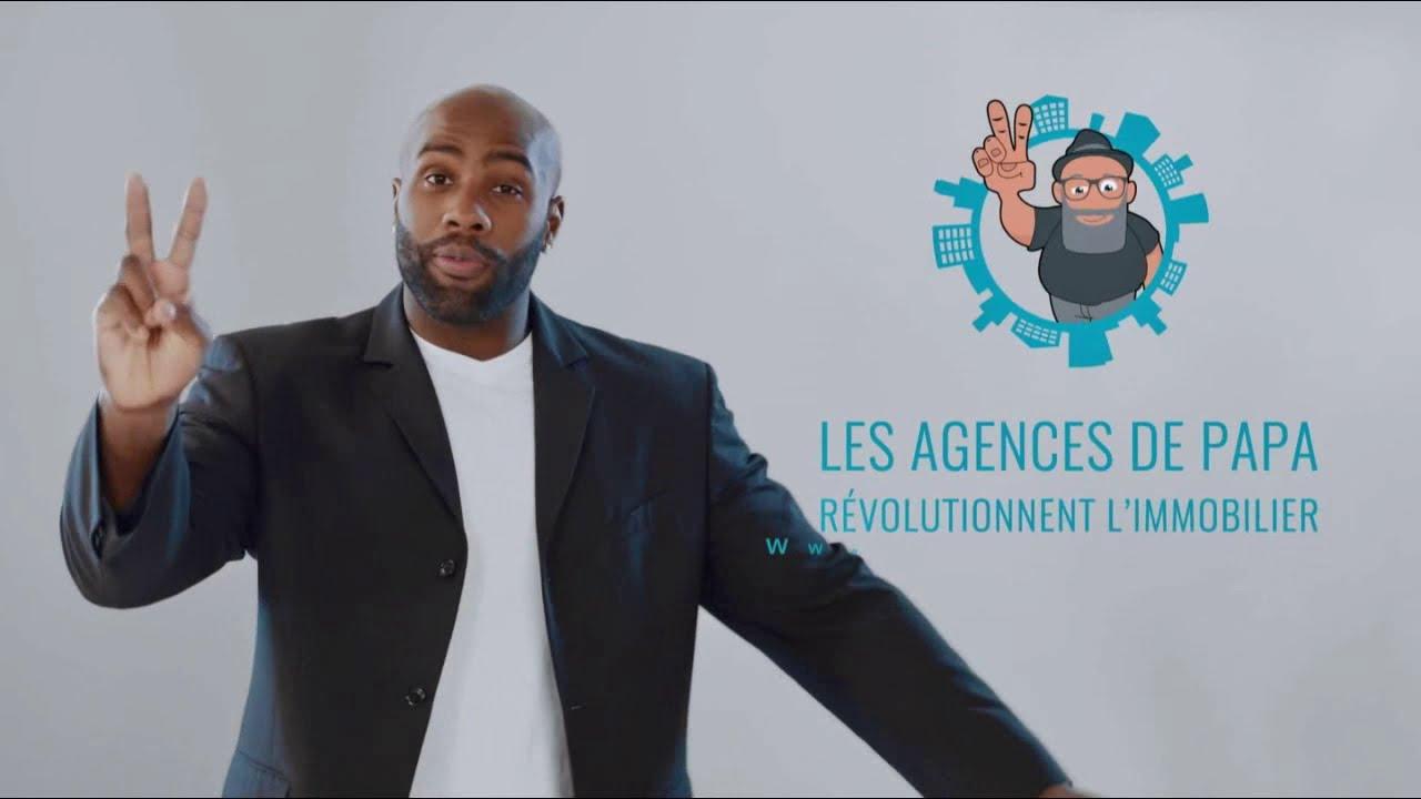 """Musique de la pub Les agences de Papa – Teddy Riner """"révolutionnent l'immobilier""""  Mai 2021"""