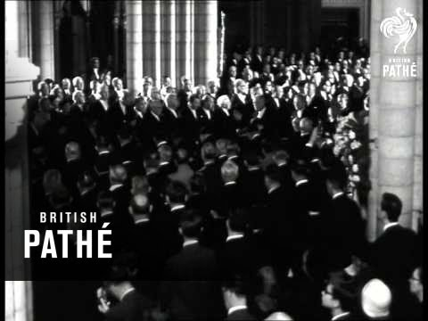 Dag Hammarskjold's Funeral (1961)