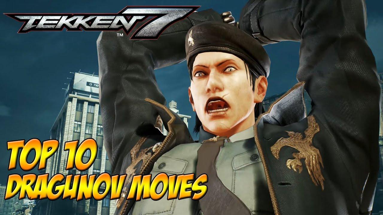 Tekken 7 Top 10 Dragunov Moves Youtube