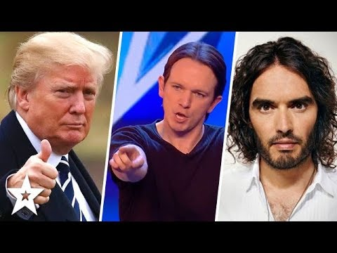 Comical Impressionist Takes on TRUMP on Britain's Got Talent 2018