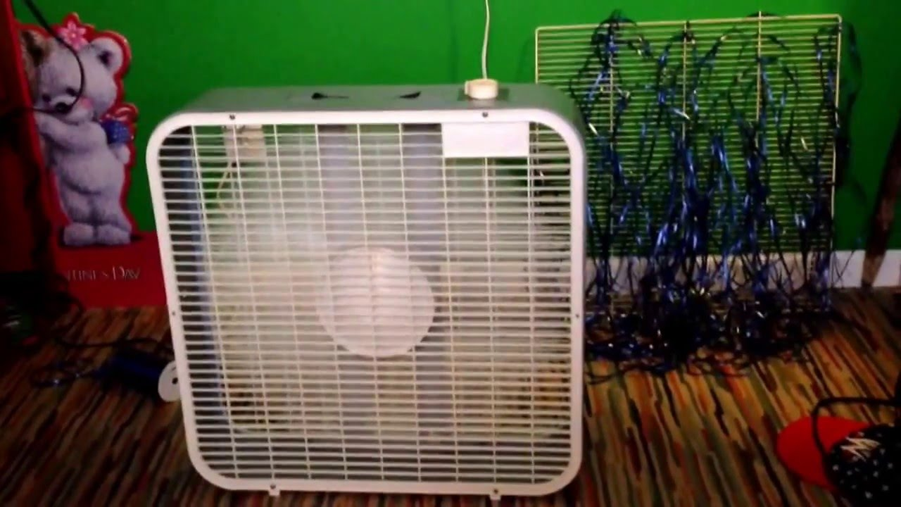 1993 1994 Galaxy By Lasko 3723 20 Quot Box Fan Youtube