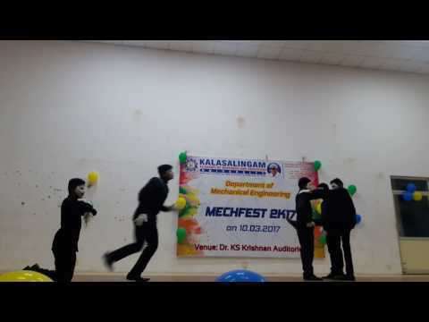 Kalasalingam university deaf dumb for mime 2k17