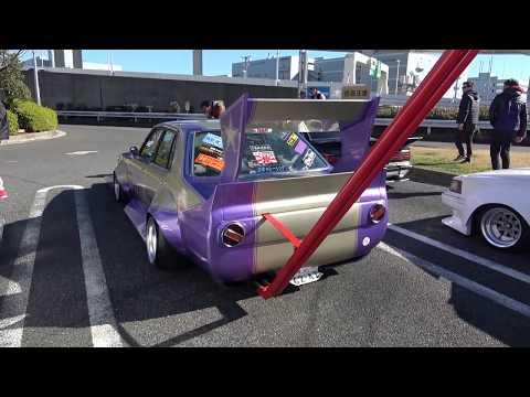 When the Bosozoku Crew Crashes a Supercar Meet