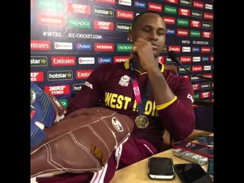 West Indies vs England-Post Match Full Press Conference-Marlon Samuel | 3 April 2016 #WT20| Full