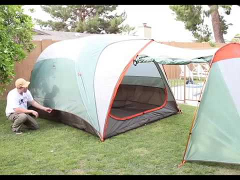 Best Family c&ing tent Hobitat 6 from REI & Best Family camping tent Hobitat 6 from REI - YouTube