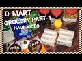 D-MART shopping grocery haul video // cheap and good quality stuff PART-1 VIDEO