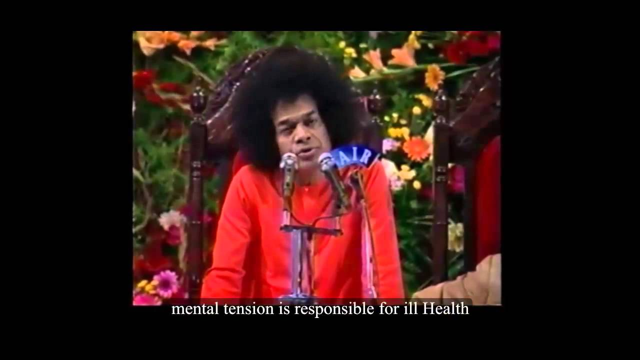 Sathya Sai Baba Discourse on Mind & thoughts
