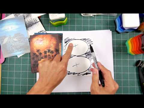 Stampscapes 101: Video 161.  A Simple Approach to Lighting Schemes