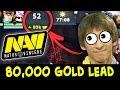 80,000 gold lead 10-SLOTTED carries — Secret.Dendi vs NaVi