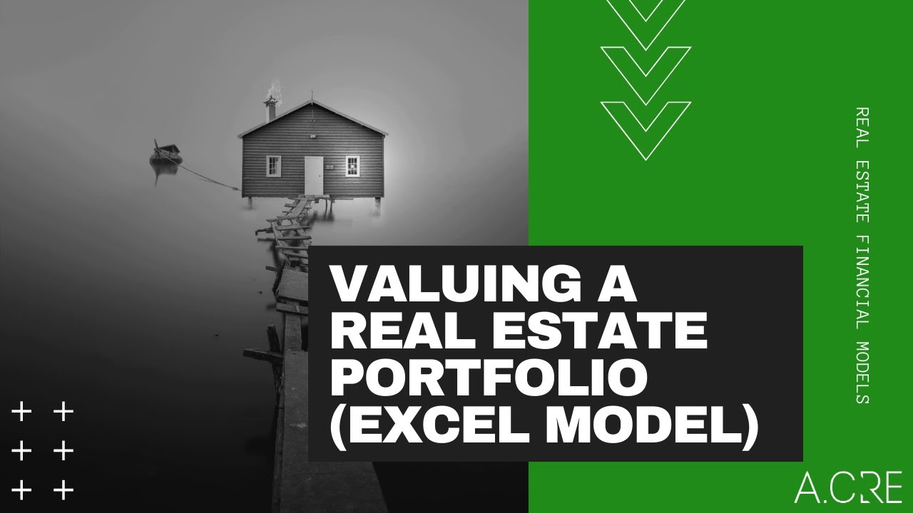 Real Estate Portfolio Valuation (Acquisition) Model in Excel