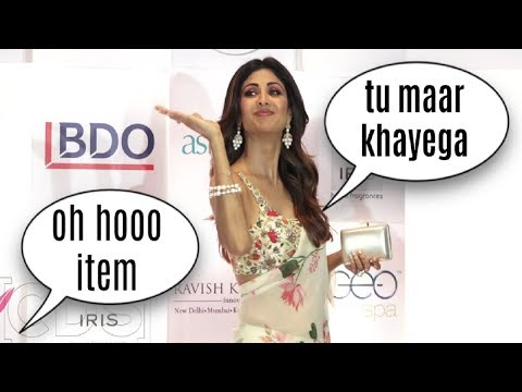 Bollywood Reporters FLIRTING With Hot Shilpa Shetty thumbnail