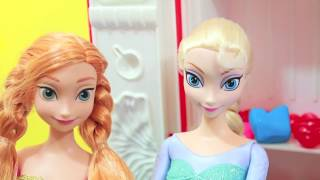 Anna Starburst Jellybean PLAY DOH Tutorial PART 2 Disney Frozen Elsa Princess