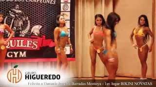 2da - Segunda Copa Aquiles GYM - 1er lugar Bikini Novata
