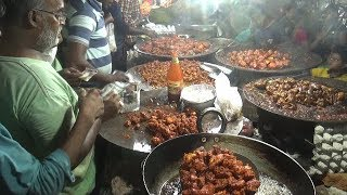 People Crazy to Buy Spicy Chicken Pakora on Indian Street | Must Choice Food | Street Food India