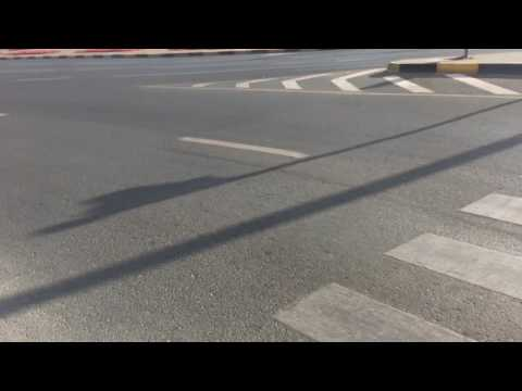 Sharjah square zebra crossing problem