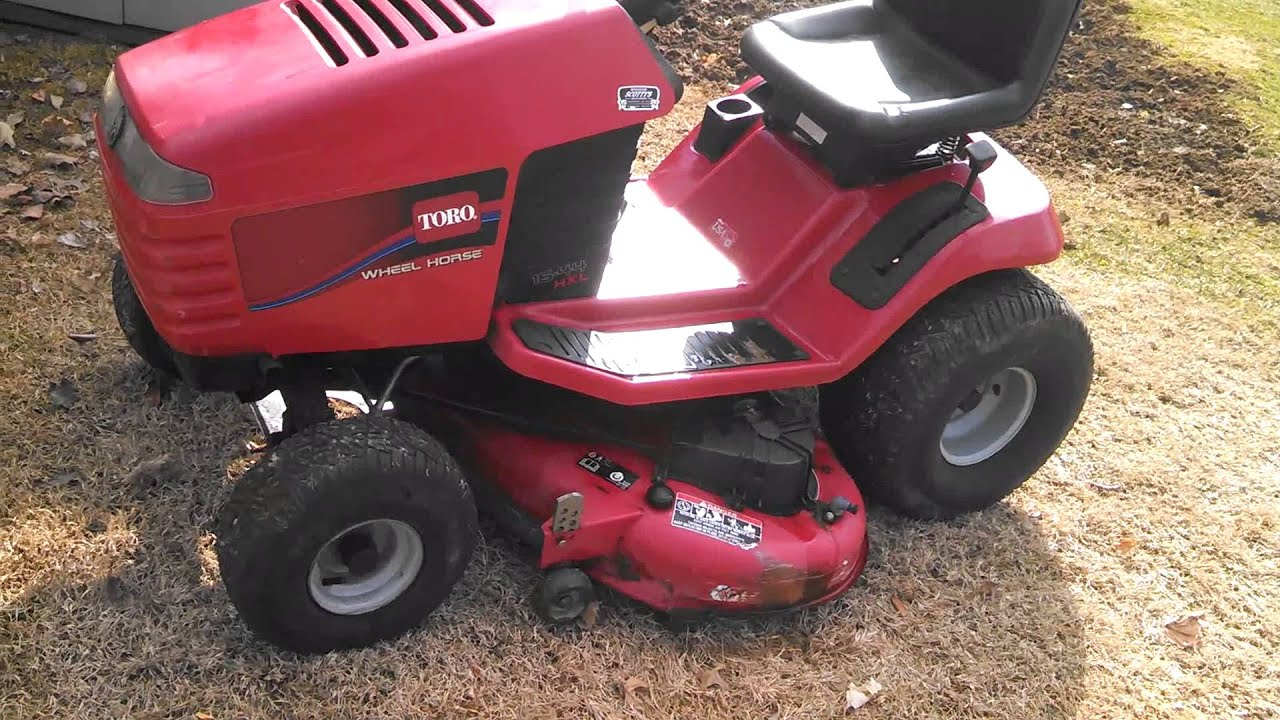 Toro 266h Wiring Diagram Just Wirings Scotts Lawn Mower Wheel Horse Tractor Youtube Rh Com Zero Turn