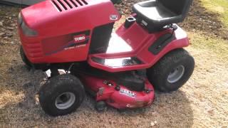 Toro Wheel horse tractor