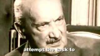 heidegger on future of philosophy (english subtitles)