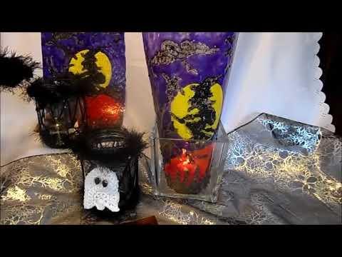Diy Hexen Windlicht Basteln Halloween Party Deko Fenster Deko