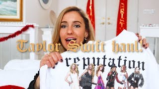 Taylor Swift reputation Clothing HAUL!