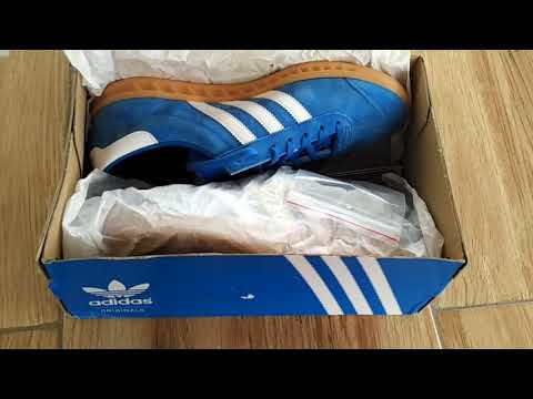 UNBOXING ADIDAS ORIGINALS HAMBURG BLUEBIRD TRAINERS