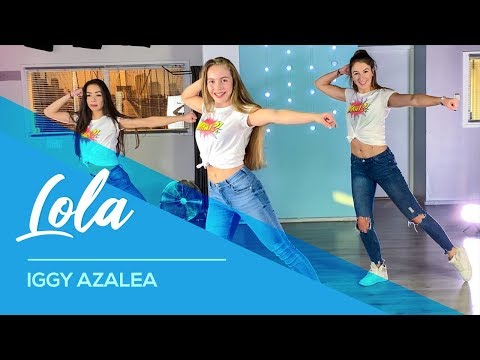 Iggy Azalea, Alice Chater – Lola – Easy Fitness Dance Video – Choreography – Coreo