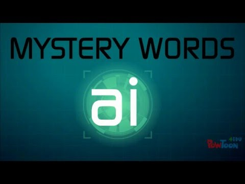 Phonics Mystery Words Mission: AI sound
