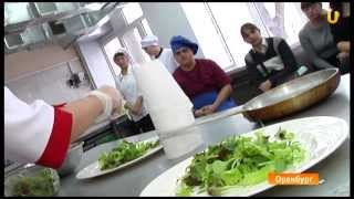 UTV. Оренбург. Мастер-класс от Елены Никитиной по приготовлению холодных закусок №2