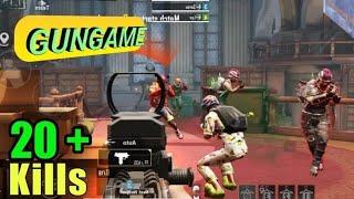Gun-game match With LEVINHO & Sevou   PUBG MOBILE