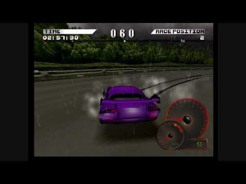 Test Drive 4HD: TVR Speed, Kyoto reverse