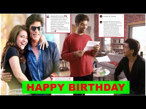 Shah Rukh Khan turns 54: Bollywood celebrities pour in birthday wishes Mp3