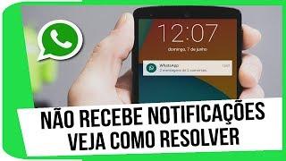 Whatsapp não recebe notificações? Como resolver!