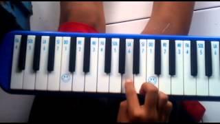 Andra Eagle, Cara bermain pianika lagu Tanah Airku