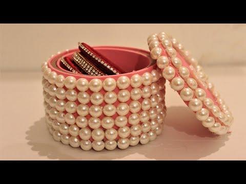 DIY - craft. How to Make Jewelry Box. Organizer For Jewelry | organization gifts